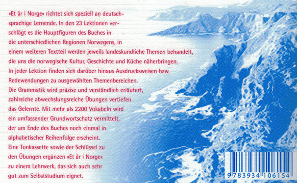 Rezension Et ar i Norge Lehrbuch norwegisch