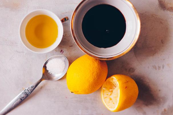 Zitronen Dressing