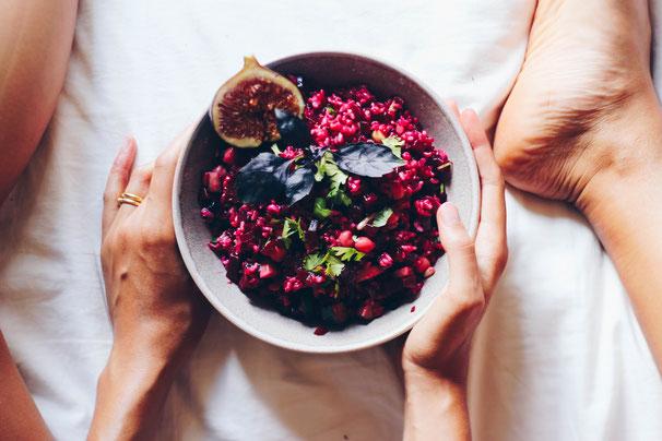 Pink Power - Rote Bete Reis Salat