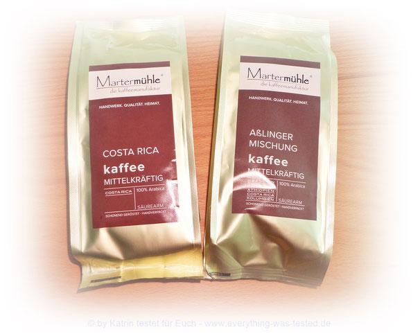 Mittelkräftiger Kaffee