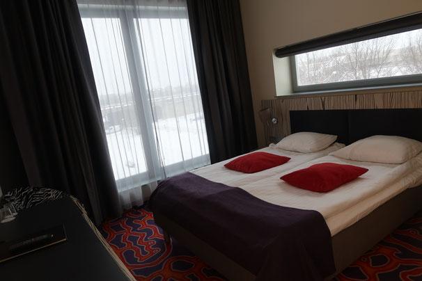 Eckzimmer im Tallink Spa & Conference Hotel in Tallinn