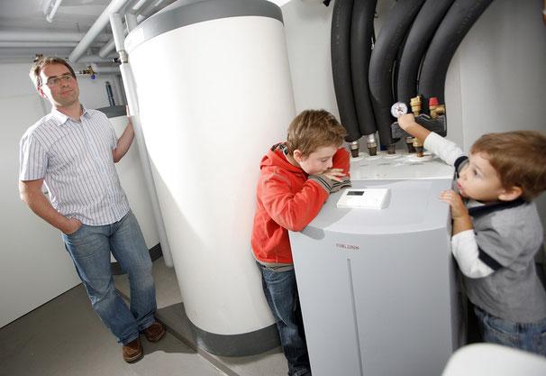 Heizkessel Neue Energie Modernisierung Sparen