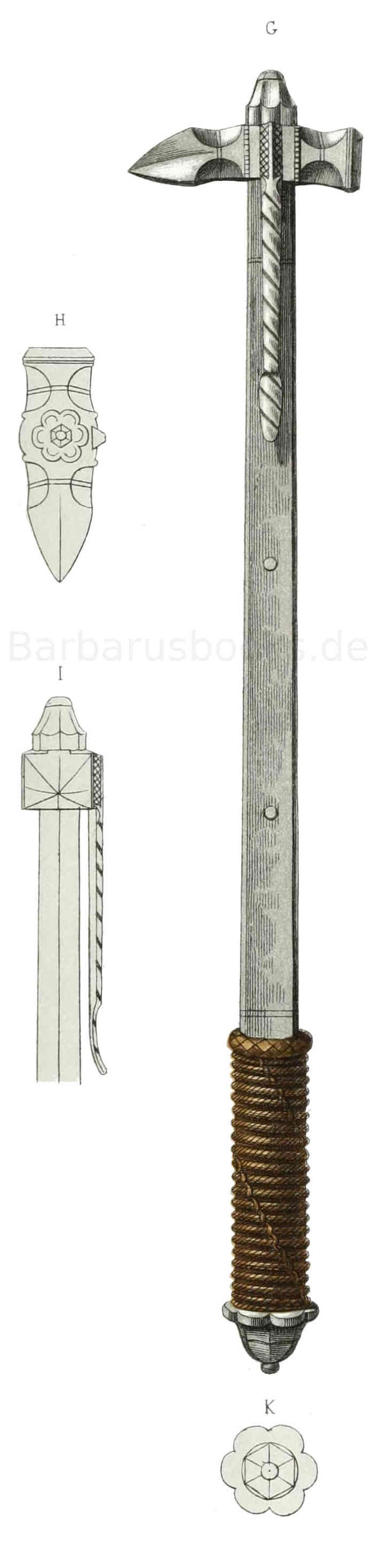 Streithammer und Faustkolben vom Ende des 15. bis tief in das 16. Jahrhundert