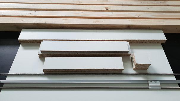 Sitzbank / Gartenbank selber bauen benötigte  Materialien