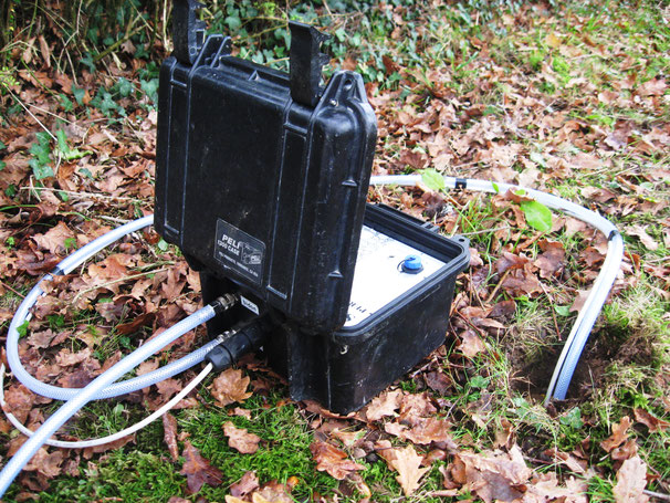 constant-head borehole infiltration test
