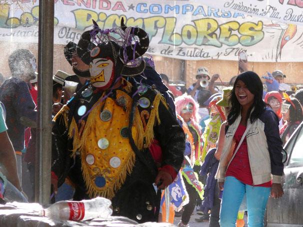 Der Carneval de los Picaflores, Humahuaca (Foto Jörg Schwarz)