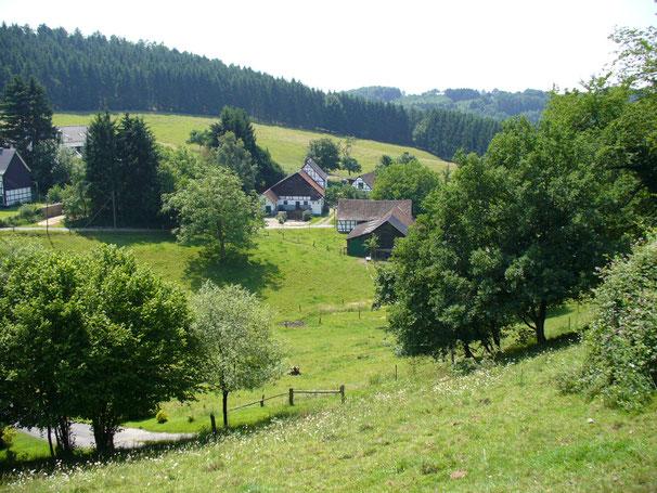 Eine schöne Hofstelle im Oberbergischen (BSO_os)