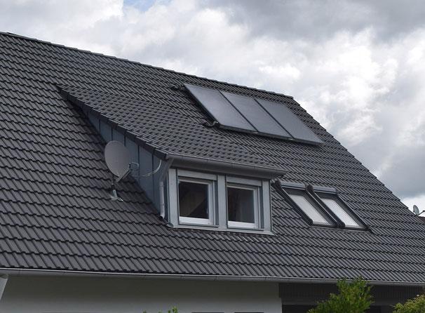 Gauben und Dachfenster schaffen Licht ins Dachgeschoss
