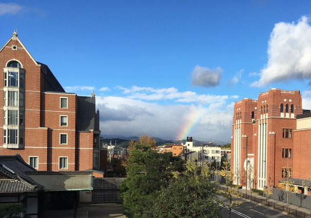 2018年11月22日の虹