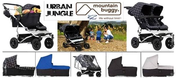 Mountain Buggy Duet - Tracht, name it, Kinderwagen & Umstandsmode