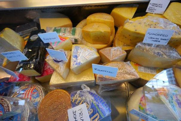 チーズでも選びきれないほどの種類。