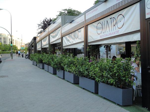Fabrica de jardineras prefabricadas jardineras losada - Maceteros para terrazas ...