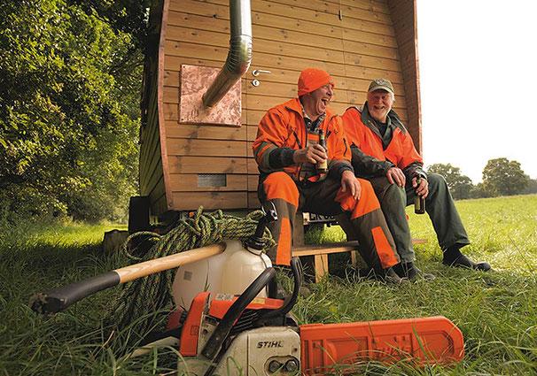 Das Tannhäuschen als Unterkunft für Waldarbeiter