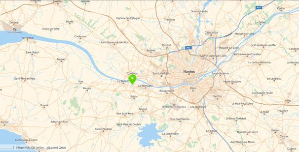 plan Nantes-Métropole, 44640 Saint-jean-de-boiseau