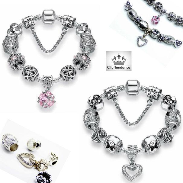 bijoux femme bracelet pandora