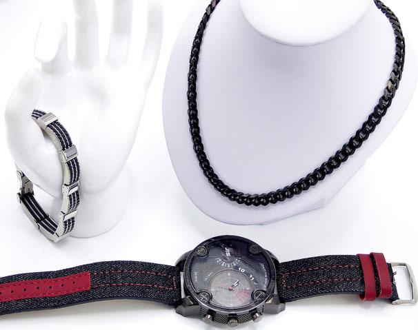 bijoux et montre homme clic tendance