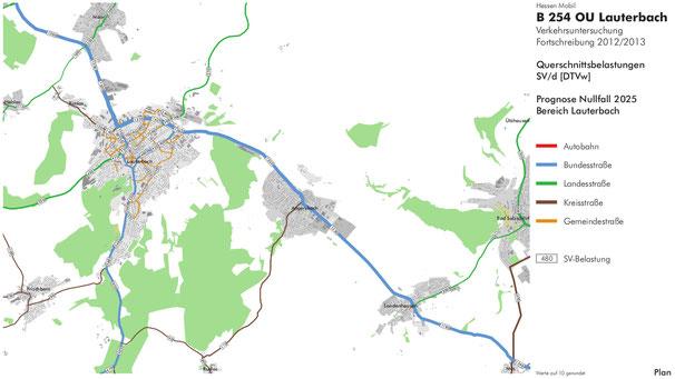 SV = Schwerverkehr (LKW)