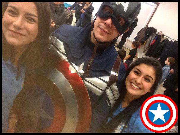 Capitan america festa a tema Avengers Roma