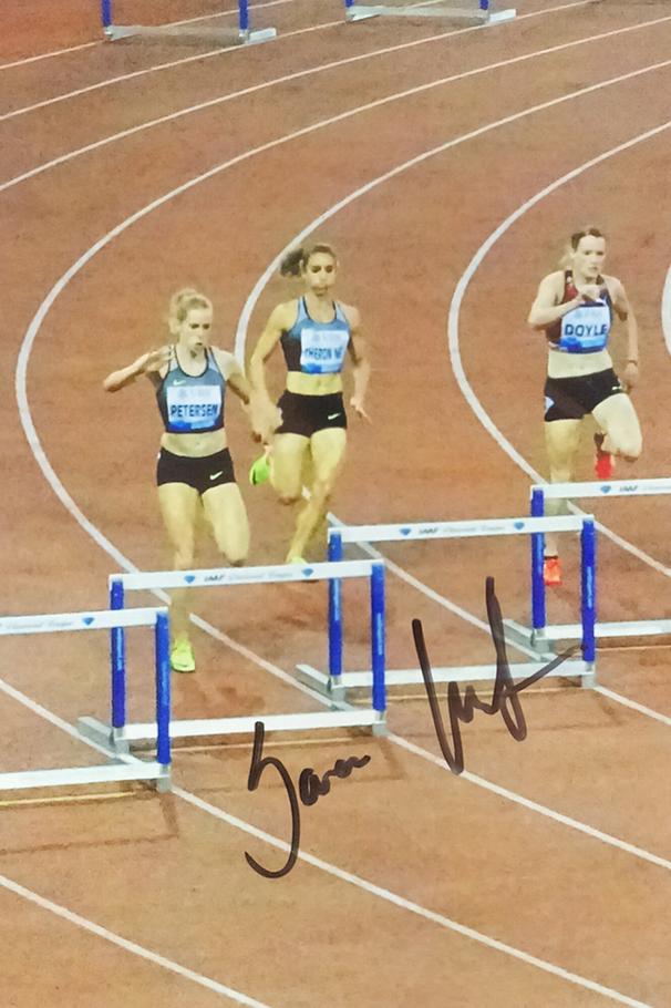 Sara Petersen Autograph