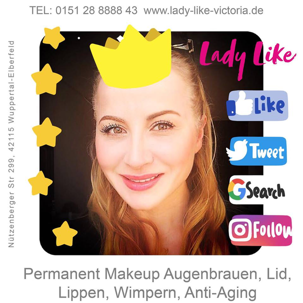 Bitte folge LadyLikeVictoria auf Facebook!