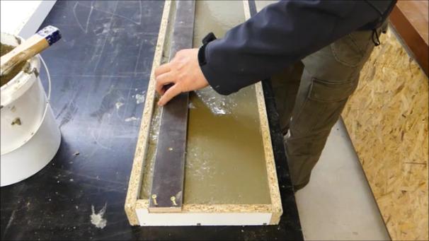 Fensterbänke aus Beton selber bauen -DiY- - Betonmöbel ...