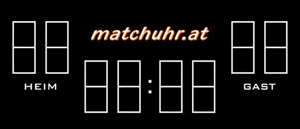Scoreboard 8 Ziffern Matchuhr Minuten- und Sekundenanzeige Heim Gast