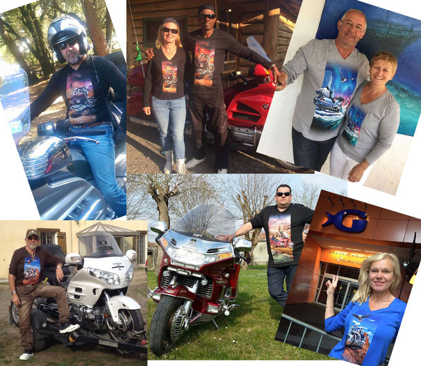Our Customers are proud to wear their t-shirts