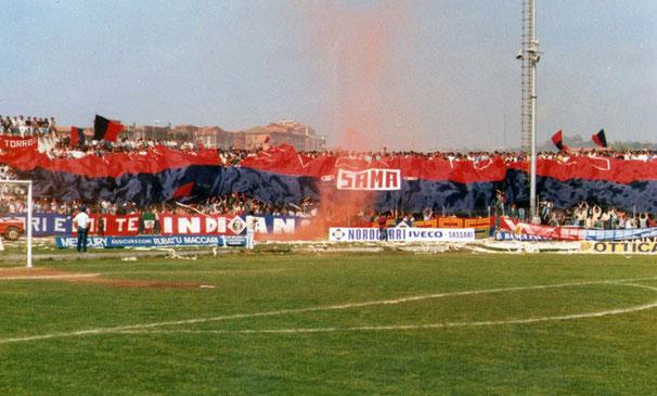 Torres Sassari Tifo Calcio Stadion Ultras Fans