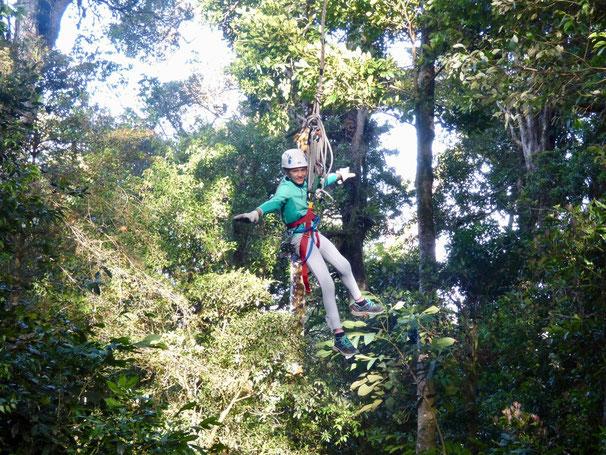 Zip line Monteverde