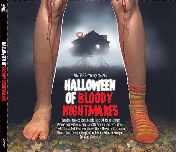 "Обложка CD ""Halloween of Bloody Nightmares"", 2008"