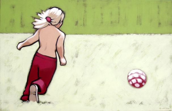 ball no.2 | jan 07 | 110 x 70 cm | •