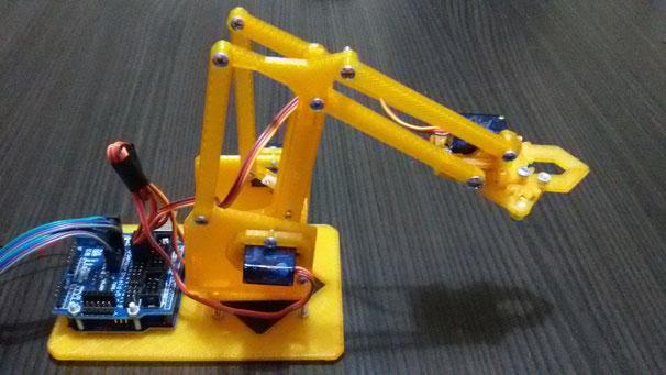 arduino robot kol projesi