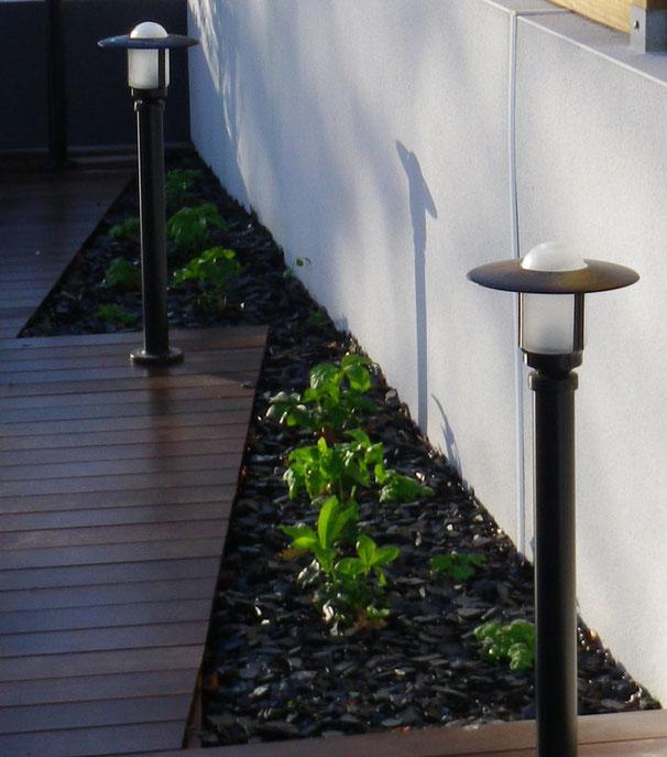 plantation et terrasse à baden
