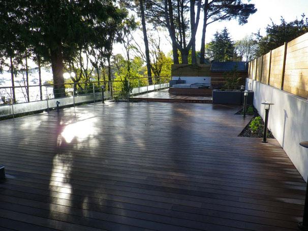 terrasse bois à baden