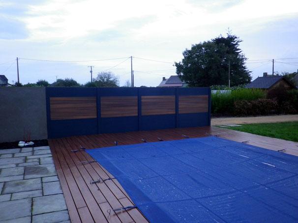 terrasse et panneaux composites