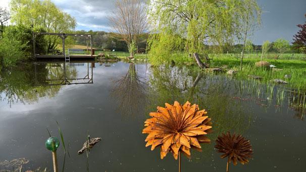 ... und über dem grossen Teich