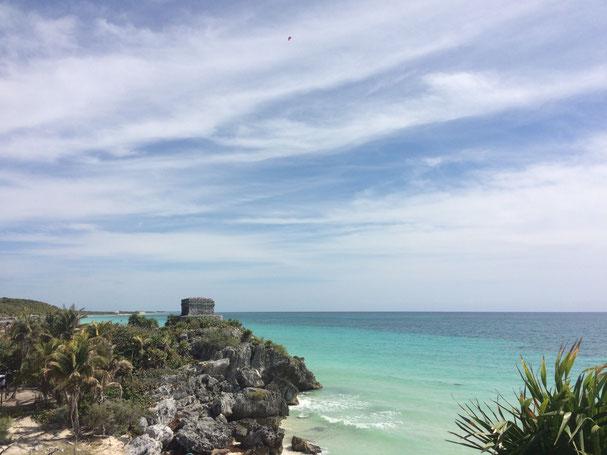Le rovine Maya a Tulum