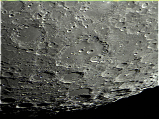 Clavius region in southern highlands 6/20/13