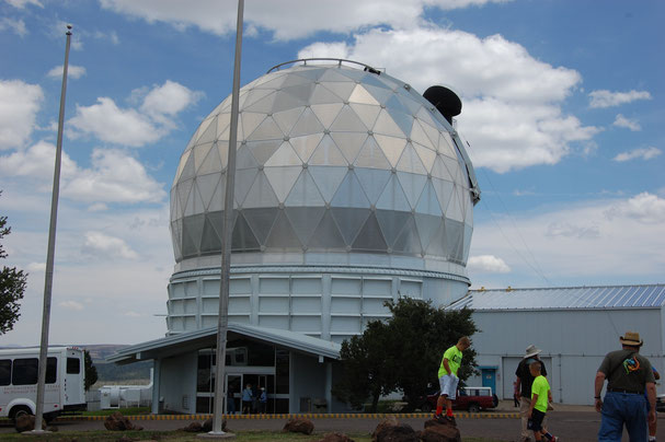 The Dome of the Hobby-Eberly Telescope