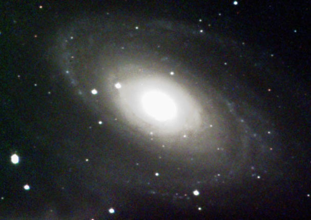 Spiral galaxy in Ursa Major, M81