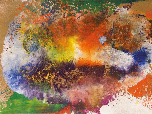 Kunstwerk WAVES BREAKING IN THE SNOW GLOBE auf ARTS IV als Acrylglas- oder Schattenfugenrahmen-Druck bestellen