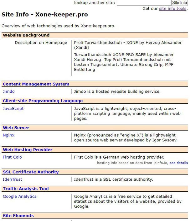 w3techs tool