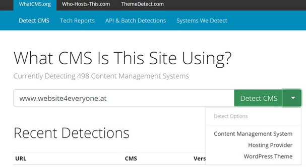 what cms tool
