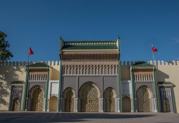 Il Palazzo Reale a Fez El Jedid