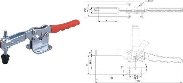 Waagrechtspanner Horizontalspanner CH-20235 und CH-20236