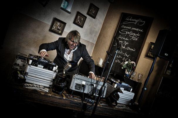 Marc als DJ