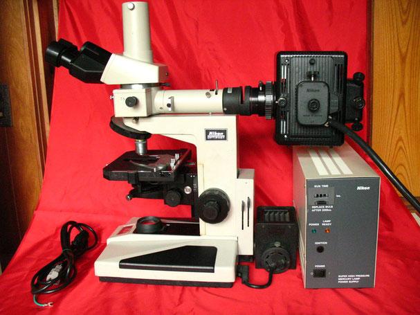 ニコン 蛍光顕微鏡