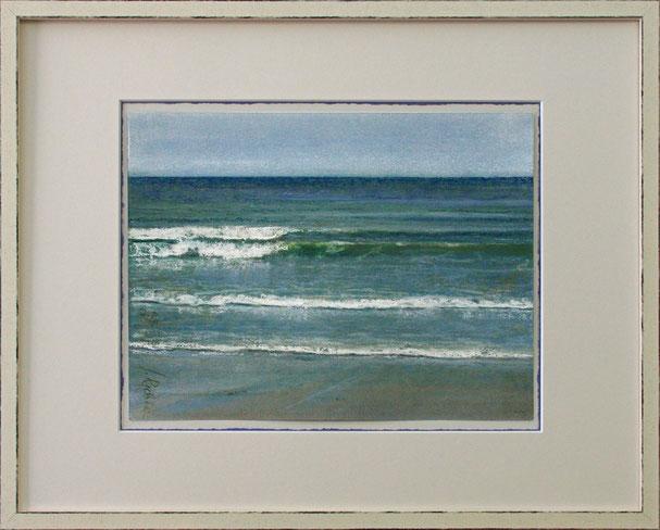 """Wellen"" (Pastell), 50 cm x 40 cm"