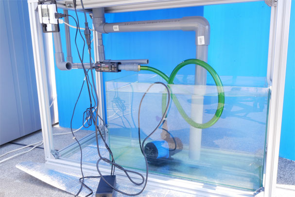 DEP-2500 HSABO 水中ポンプ 水陸両用ポンプ 配管 オーバーフロー水槽 DCポンプ