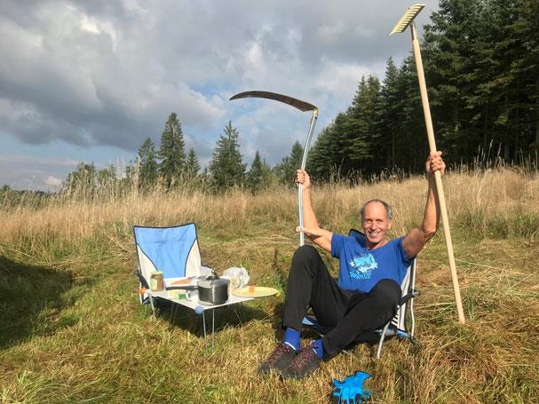 Reinhard Rhaue (hier im Bild) gibt hierzu im Waldviertel Leistungskurse!